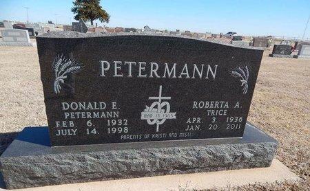PETERMANN, ROBERTA A - Woods County, Oklahoma | ROBERTA A PETERMANN - Oklahoma Gravestone Photos