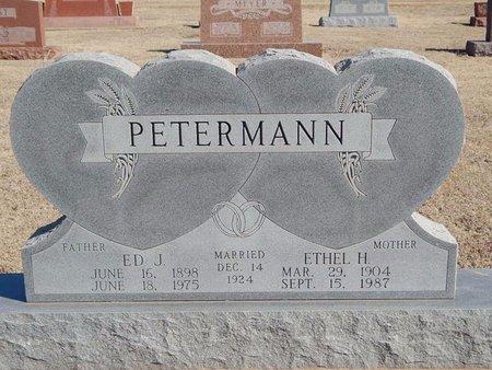 PETERMANN, ED J - Woods County, Oklahoma | ED J PETERMANN - Oklahoma Gravestone Photos
