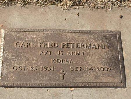 PETERMANN (VETERAN KOR), CARL FRED - Woods County, Oklahoma   CARL FRED PETERMANN (VETERAN KOR) - Oklahoma Gravestone Photos