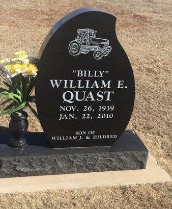 QUAST, WILLIAM E - Woods County, Oklahoma | WILLIAM E QUAST - Oklahoma Gravestone Photos