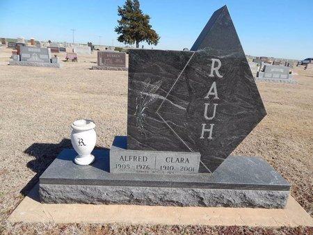 RAUH, CLARA - Woods County, Oklahoma   CLARA RAUH - Oklahoma Gravestone Photos