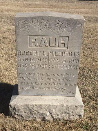 RAUH, MILDRED I S - Woods County, Oklahoma | MILDRED I S RAUH - Oklahoma Gravestone Photos