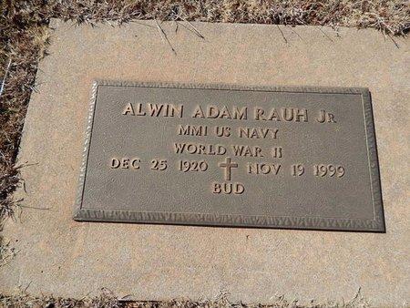RAUH (VETERAN WWII), ALWIN ADAM JR - Woods County, Oklahoma | ALWIN ADAM JR RAUH (VETERAN WWII) - Oklahoma Gravestone Photos