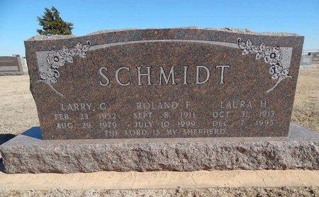 SCHMIDT, ROLAND F - Woods County, Oklahoma   ROLAND F SCHMIDT - Oklahoma Gravestone Photos