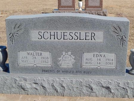SCHUESSLER, EDNA - Woods County, Oklahoma | EDNA SCHUESSLER - Oklahoma Gravestone Photos