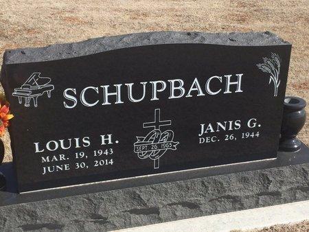 SCHUPBACH, LOUIS H - Woods County, Oklahoma   LOUIS H SCHUPBACH - Oklahoma Gravestone Photos