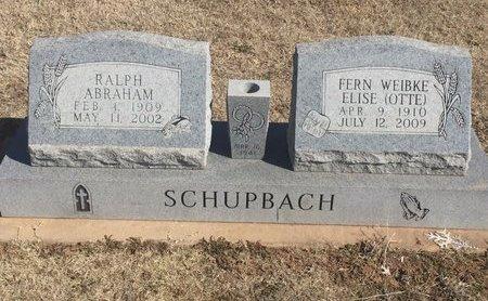 OTTE SCHUPBACH, FERN WEIBKE ELISE - Woods County, Oklahoma | FERN WEIBKE ELISE OTTE SCHUPBACH - Oklahoma Gravestone Photos