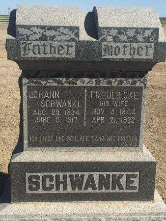 SCHWANKE, JOHANN - Woods County, Oklahoma | JOHANN SCHWANKE - Oklahoma Gravestone Photos