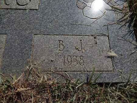 SEARS, B J (CLOSE-UP) - Woods County, Oklahoma | B J (CLOSE-UP) SEARS - Oklahoma Gravestone Photos