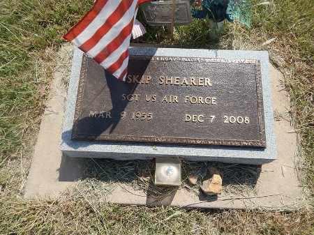 SHEARER (VETERAN), SKIP - Woods County, Oklahoma | SKIP SHEARER (VETERAN) - Oklahoma Gravestone Photos