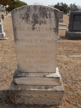 SMITH, OLLIE - Woods County, Oklahoma | OLLIE SMITH - Oklahoma Gravestone Photos