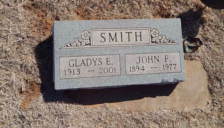 SMITH, GLADYS E - Woods County, Oklahoma | GLADYS E SMITH - Oklahoma Gravestone Photos