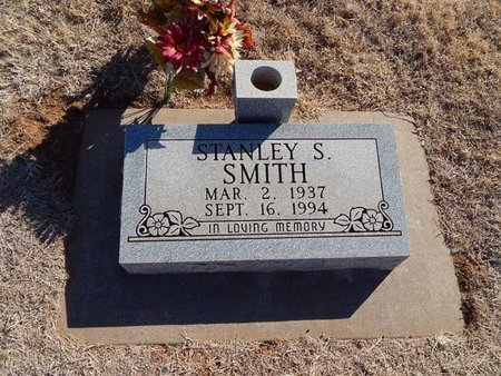 SMITH, STANLEY S - Woods County, Oklahoma | STANLEY S SMITH - Oklahoma Gravestone Photos