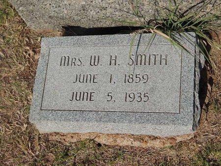SMITH, W H (MRS) - Woods County, Oklahoma | W H (MRS) SMITH - Oklahoma Gravestone Photos