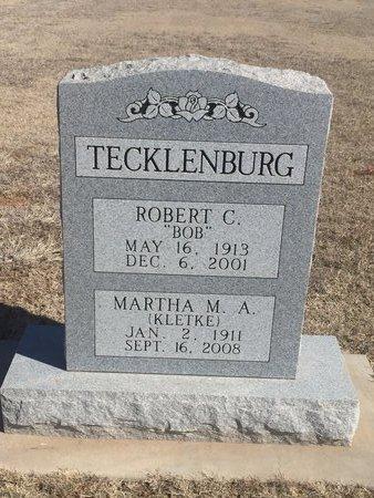 TECKLENBURG, ROBERT C - Woods County, Oklahoma | ROBERT C TECKLENBURG - Oklahoma Gravestone Photos