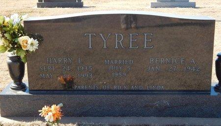 TYREE, HARRY L - Woods County, Oklahoma | HARRY L TYREE - Oklahoma Gravestone Photos