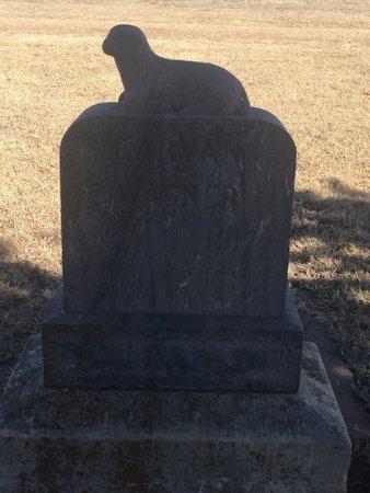 WAGNER, EARVAN - Woods County, Oklahoma   EARVAN WAGNER - Oklahoma Gravestone Photos