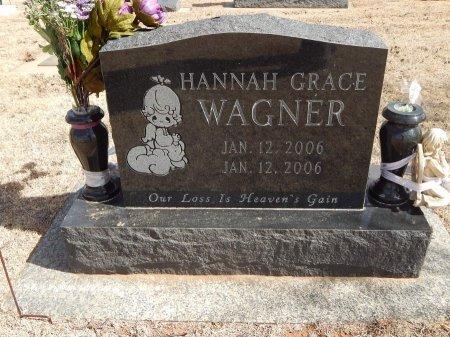 WAGNER, HANNAH GRACE - Woods County, Oklahoma | HANNAH GRACE WAGNER - Oklahoma Gravestone Photos