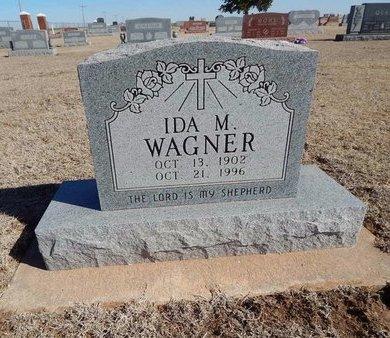 WAGNER, IDA M - Woods County, Oklahoma | IDA M WAGNER - Oklahoma Gravestone Photos