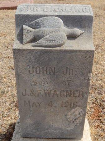 WAGNER, JOHN JR - Woods County, Oklahoma | JOHN JR WAGNER - Oklahoma Gravestone Photos