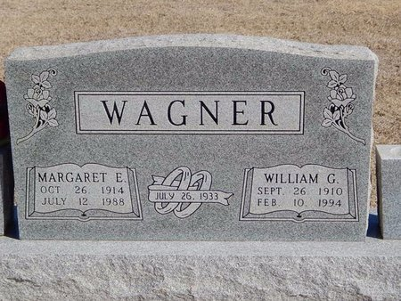 WAGNER, MARGARET E - Woods County, Oklahoma | MARGARET E WAGNER - Oklahoma Gravestone Photos