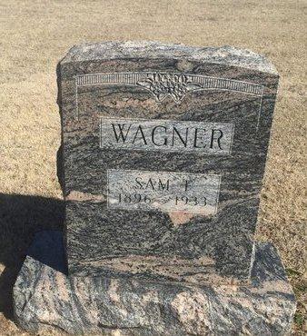 WAGNER, SAM I - Woods County, Oklahoma | SAM I WAGNER - Oklahoma Gravestone Photos
