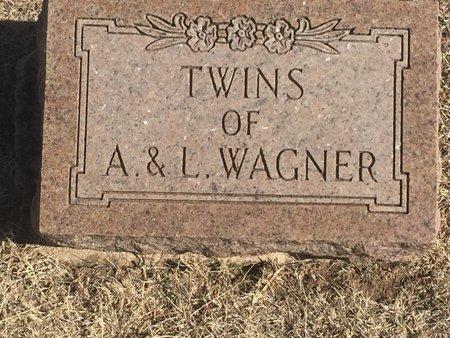 WAGNER, TWINS - Woods County, Oklahoma   TWINS WAGNER - Oklahoma Gravestone Photos