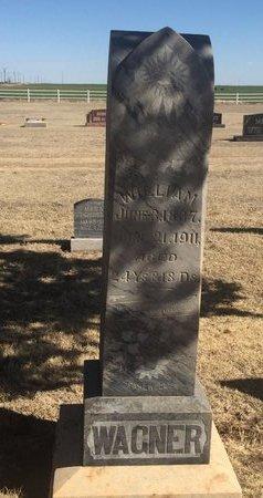 WAGNER, WILLIAM - Woods County, Oklahoma   WILLIAM WAGNER - Oklahoma Gravestone Photos