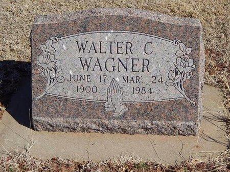 WAGNER, WALTER C - Woods County, Oklahoma   WALTER C WAGNER - Oklahoma Gravestone Photos
