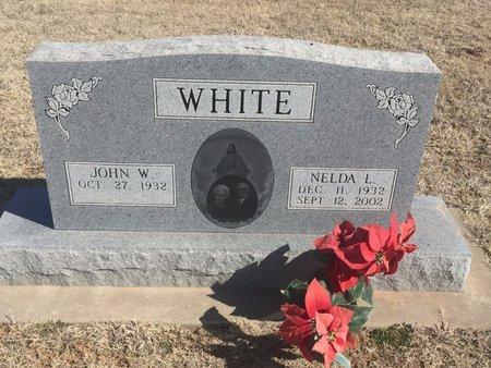 WHITE, NELDA L - Woods County, Oklahoma   NELDA L WHITE - Oklahoma Gravestone Photos