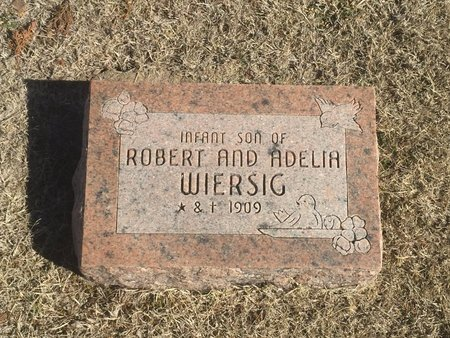 WIERSIG, INFANT SON - Woods County, Oklahoma | INFANT SON WIERSIG - Oklahoma Gravestone Photos