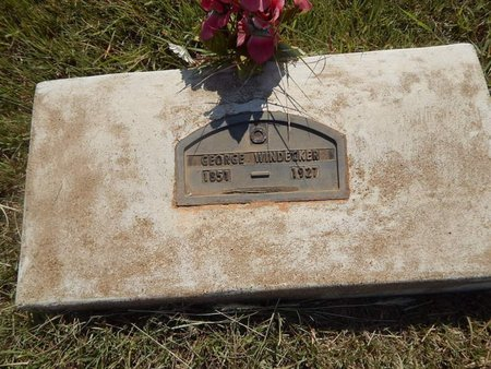 WINDECKER, GEORGE - Woods County, Oklahoma | GEORGE WINDECKER - Oklahoma Gravestone Photos