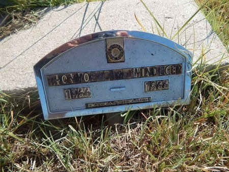 WINDECKER, RHONYOE - Woods County, Oklahoma | RHONYOE WINDECKER - Oklahoma Gravestone Photos
