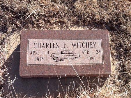 WITCHEY, CHARLES E - Woods County, Oklahoma   CHARLES E WITCHEY - Oklahoma Gravestone Photos