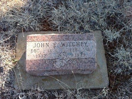 WITCHEY, JOHN E - Woods County, Oklahoma | JOHN E WITCHEY - Oklahoma Gravestone Photos