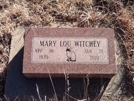 WITCHEY, MARY LOU - Woods County, Oklahoma | MARY LOU WITCHEY - Oklahoma Gravestone Photos