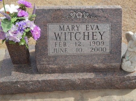 WITCHEY, MARY EVA - Woods County, Oklahoma | MARY EVA WITCHEY - Oklahoma Gravestone Photos