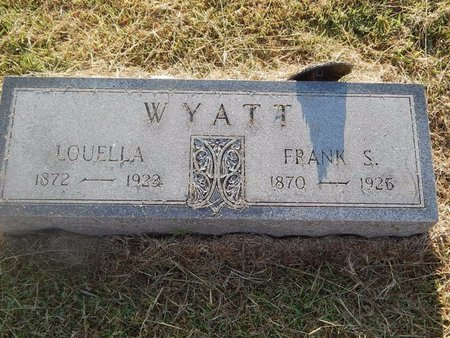 WYATT, FRANK S - Woods County, Oklahoma | FRANK S WYATT - Oklahoma Gravestone Photos