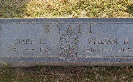 WYATT, WILLIAM H - Woods County, Oklahoma | WILLIAM H WYATT - Oklahoma Gravestone Photos