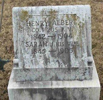 ALBERT (CW), HENRY - Adams County, Pennsylvania | HENRY ALBERT (CW) - Pennsylvania Gravestone Photos
