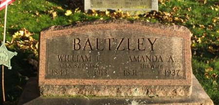 BALTZLEY, WILLIAM F. - Adams County, Pennsylvania | WILLIAM F. BALTZLEY - Pennsylvania Gravestone Photos