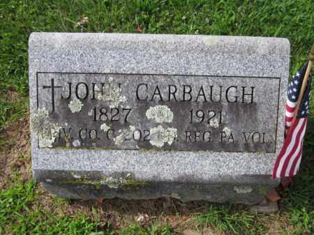 CARBAUGH (CW), JOHN - Adams County, Pennsylvania | JOHN CARBAUGH (CW) - Pennsylvania Gravestone Photos