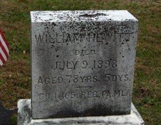 HEWITT (CW), WILLIAM - Adams County, Pennsylvania | WILLIAM HEWITT (CW) - Pennsylvania Gravestone Photos