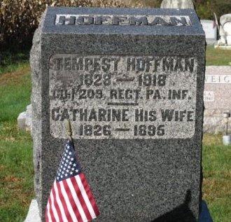HOFFMAN (CW), TEMPEST (TEMPES) - Adams County, Pennsylvania | TEMPEST (TEMPES) HOFFMAN (CW) - Pennsylvania Gravestone Photos