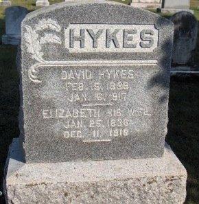 HYKES (CW), DAVID - Adams County, Pennsylvania | DAVID HYKES (CW) - Pennsylvania Gravestone Photos