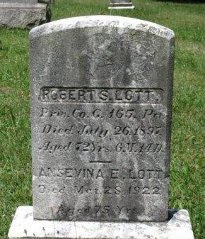 LOTT (CW), ROBERT S. - Adams County, Pennsylvania | ROBERT S. LOTT (CW) - Pennsylvania Gravestone Photos