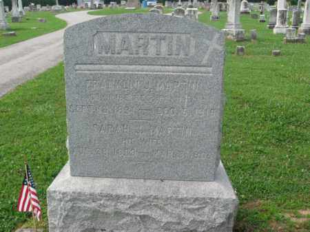 MARTIN (CW), FRANKLIN J. - Adams County, Pennsylvania | FRANKLIN J. MARTIN (CW) - Pennsylvania Gravestone Photos