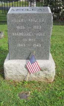 MCCLEAF (CW), ROBERT - Adams County, Pennsylvania   ROBERT MCCLEAF (CW) - Pennsylvania Gravestone Photos