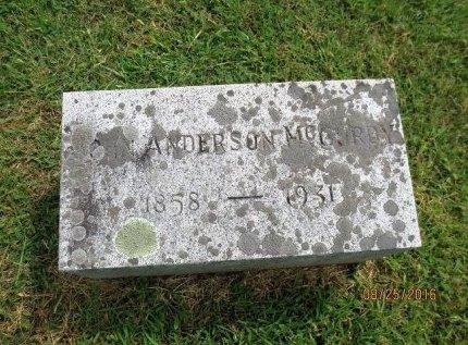 MCCURDY, JOHN ANDERSON - Adams County, Pennsylvania | JOHN ANDERSON MCCURDY - Pennsylvania Gravestone Photos