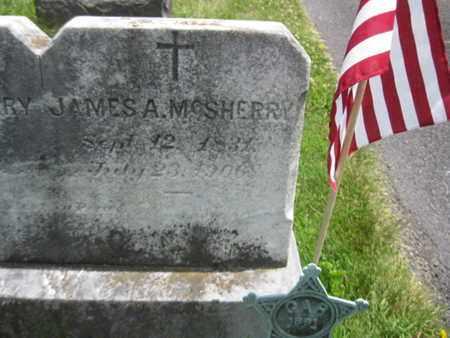 MCSHERRY (CW), JAMES A. - Adams County, Pennsylvania | JAMES A. MCSHERRY (CW) - Pennsylvania Gravestone Photos